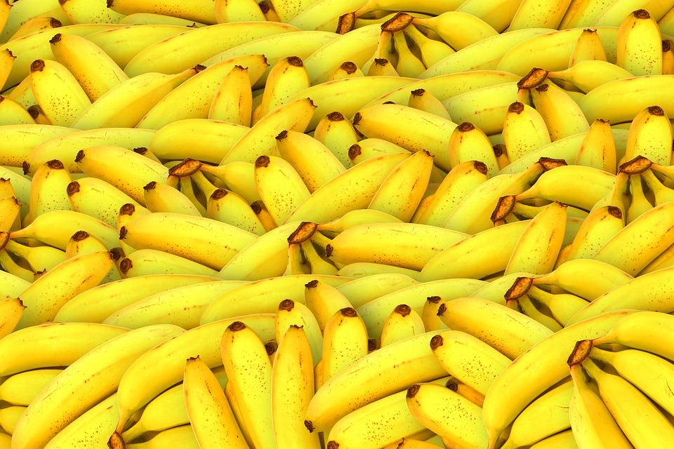 banány, ovocie